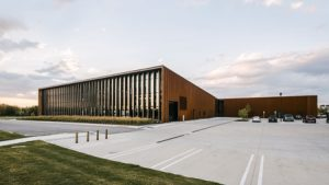 Designed by Barkow Leibinger, Smart Factory in Illinois is one of the nine recipients of the American Institute of Architects (AIA) 2019 Institute Honor Awards for Architecture. Photo courtesy AIA