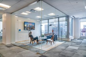 Architecture firm Tria designs a collaborative, open-office environment for Boston-based real estate firm Cresa. Photo © Warren Patterson Photography