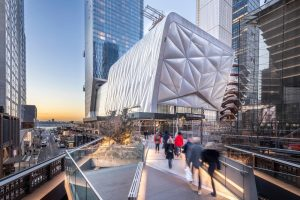 New York City's newest performing arts center, the Shed, is designed to physically transform to support artists' most ambitious ideas. Photo © Brett Beyer