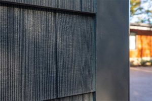 Consisting of mostly nonflammable cement and silica, fiber-cement siding resists combustion.
