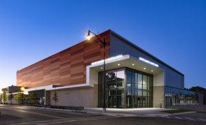 Washington D.C.'s Entertainment and Sports Arena (ESA), a state-of-the-art multipurpose entertainment, sports, and cultural complex, has employed insulted metal panels (IMPs). Photo courtesy Kingspan Insulated Panels–North America