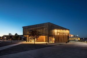 The Center for Wooden Boats (CWB) in Seattle, Washington, is expanding with its new Wagner Education Center. Photo courtesy Olson Kundig