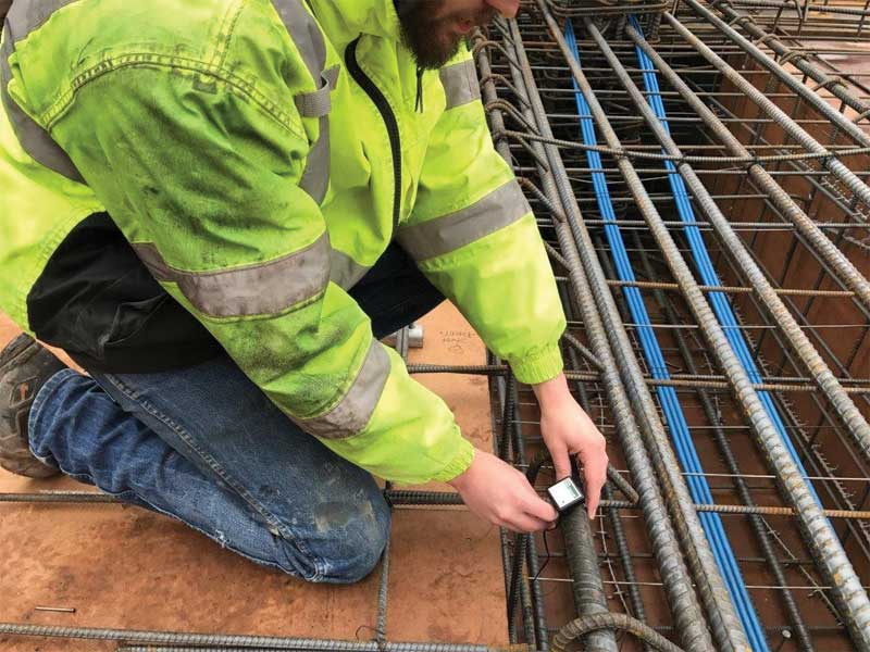 Concrete testing goes wireless - Construction Specifier