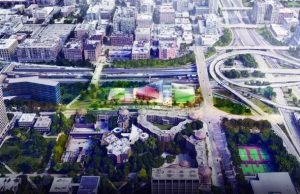 The team of OMA and KOO is the winner of an international competition to design an innovative 'Center for the Arts' on the University of Illinois at Chicago (UIC) campus. Photo courtesy UIC
