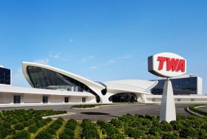 The Trans World Airlines (TWA) hotel opens inside the JFK airport in New York City. Photo courtesy TWA Hotel/David Mitchell