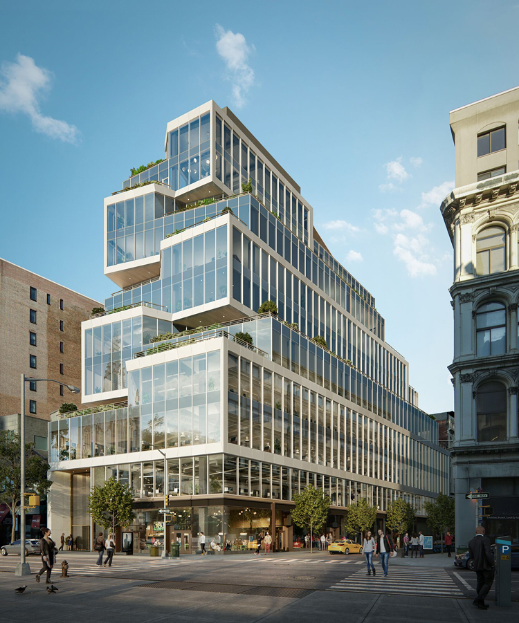 Architects Propose A New Paradigm For Office Buildings In Nyc