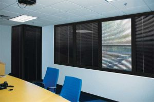 Figure 1: Outside noise can be dampened by adding laminates to glass. Photo courtesy YKK AP America