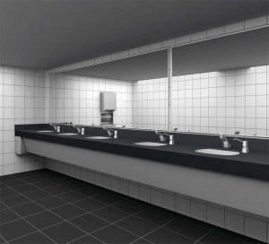 Photos courtesy Bobrick Washroom Equipment, Inc.