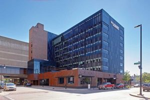 Prior to the design of Hotel Lismore in Eau Claire, Wisconsin, one important consideration was the type of air and moisture barrier the project team would use on the building envelope. Photo courtesy Hotel Lismore
