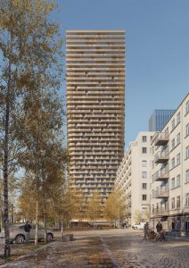 Netherlands-based architecture firm Mecanoo has won competitions to design high-rises in Germany and China. Images courtesy Mecanoo