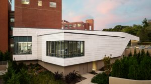The expanded emergency department (ED) of Northwell Health in Huntington, New York, helps meet the growing needs of the community. Photo courtesy Scott Frances