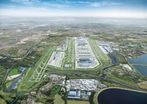 The Heathrow Airport in London has revealed its preferred masterplan for expansion. Image courtesy Heathrow Airport