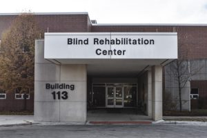 When the Edward Hines, Jr. Veteran's Affairs Hospital in Illinois was renovated, the project team had to include wayfinding elements that visually impaired patients could feel with their long cane.