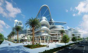 Bleutech Park in Las Vegas will create a digital infrastructure city featuring state-of-the-art technology. Image courtesy Bleutech Park Properties