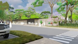 Designs have been revealed for the Houston Botanic Garden in Texas. Image courtesy West 8