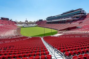 LA Memorial Coliseum stadium renovated