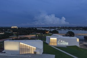 The Reach at the Kennedy Center for Performing Arts is now open. Image courtesy Steven Holl Architects