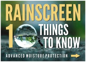 Rainscreen: 10 things to know