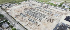 Construction is progressing on the training facilities for the Inter Miami CF team. Photo courtesy Inter Miami CF