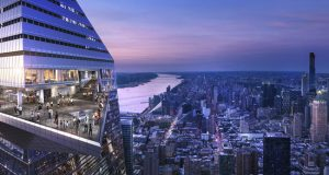 Edge, the Western Hemisphere's highest outdoor sky deck, located on top of Hudson Yards in New York City, is set to open in 2020. Image courtesy Related-Oxford