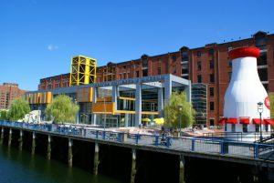 Boston Children's Museum in Massachusetts has partnered with Sasaki to design its masterplan, which will address flooding threats at its Fort Point Channel location. Photo © Karin Hansen