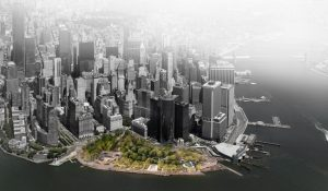 Stantec has been selected to lead the design for the Battery Coastal Resilience Project in Lower Manhattan, New York City. Image courtesy Stantec