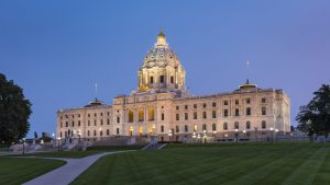 The Minnesota State Capitol Restoration project in St. Paul, Minnesota, by HGA is a 2020 Architecture Awards recipient from the American Institute of Architects (AIA). Photo courtesy Paul Crosby Architectural Photography