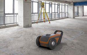 Robot-powered automation company Dusty Robotics has raised $5M in strategic seed funding. Photo courtesy Dusty Robotics