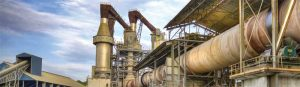 A typical cement production facility. Image courtesy Lehigh Hanson
