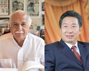 Moshe Safdie and Wuren Wang are recipients of the 2020 lifetime achievement awards from the Council on Tall Buildings and Urban Habitat (CTBUH). Photos courtesy CTBUH