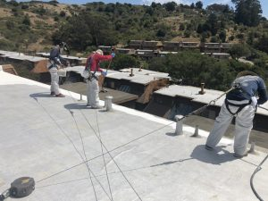 Wedge Roofing has won the 15th Annual Spray Polyurethane Foam Alliance (SPFA) National Industry Excellence Award in the 'Elastomeric Roof Coatings' category. Photo courtesy SPFA