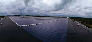 Photos courtesy Hines & Associates and Environmental Roof Components