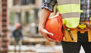 The COVID-19 pandemic has halted or delayed projects for 28 percent of contractors, a survey by Associated General Contractors of America finds. Photo © www.bigstockphoto.com