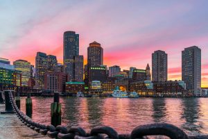 The City of Boston has suspended all construction activities in the city to help reduce the spread of COVID-19. Photo © www.bigstockphoto.com