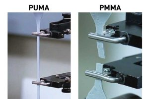 PUMA's superior elongation property allows it to stand up to extreme movement better than PMMA systems.