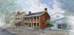 MBB Architects renovate and convert Princeton University Art Museum's historic Bainbridge House into new satellite galleries. Image courtesy MBB Architects