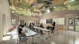 Nuthatch Hollow provides both indoor and outdoor educational spaces, and uses materials that are compliant with the Living Building Challenge (LBC).