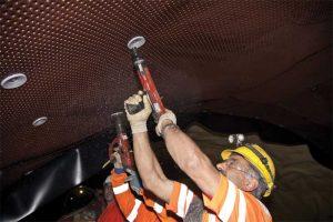 The Gotthard Base Tunnel uses high-density polyethylene (HDPE) drainboards.