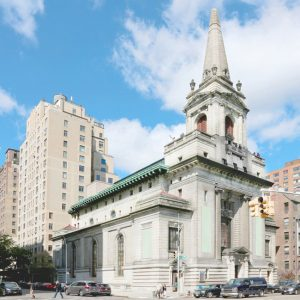 FXCollaborative has won approval to convert the historic First Church of Christ Scientist, Manhattan, into the Children's Museum of Manhattan (CMOM). Image Courtesy FXCollaborative/CMOM