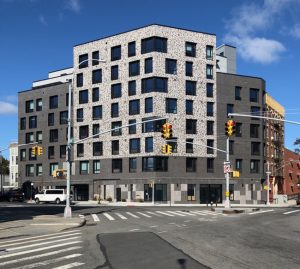 Body Lawson Associates (BLA) designs Home Street Residence, an innovative, new affordable housing complex in the Bronx. Photo courtesy BLA