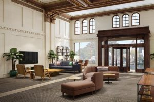 Page & Turnbull has reimagined the historic Hotel Tioga, Merced, California, as a market-rate lifestyle housing unit. Photo courtesy Page & Turnbull