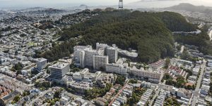 HDR and Herzog & De Meuron have been selected to design the new hospital at the University of California San Francisco (UCSF) Helen Diller Medical Center in San Francisco, California. Image courtesy HDR