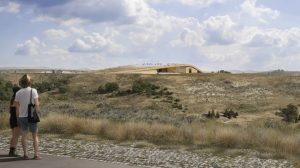 Snøhetta has been selected as the winner of the Theodore Roosevelt Presidential Library Competition to be located in the Badlands of North Dakota. Images courtesy Snøhetta