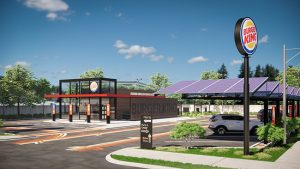 Burger King reveals new restaurant designs for enhanced guest experience in the COVID world. Designs include touchless features, mobile order, and curbside pick-up. Image courtesy Business Wire
