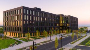 Catalyst, one of North America's largest zero-energy and first zero-carbon buildings, opens in new Spokane, Washington, eco-district. Photo courtesy Catalyst