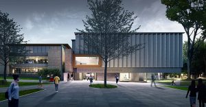 Sir David Adjaye has articulated a bold and inclusive new vision for Princeton University Art Museum's new building at the heart of the Princeton University campus, New Jersey. Image © Adjaye Associates