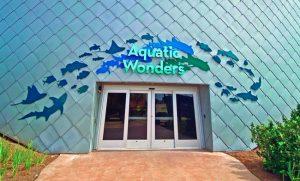 Mississippi Aquarium, Gulfport, Mississippi, features distinctive, resilient, and sustainable zinc-clad buildings. Photo © Mississippi Aquarium, photo courtesy RHEINZINK