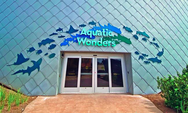 Mississippi aquarium features distinctive and sustainable ...