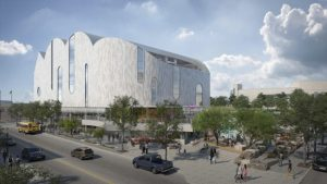 Design for the El Paso Children's Museum, Texas, has been unveiled. Image courtesy SnSnøhettawidth=