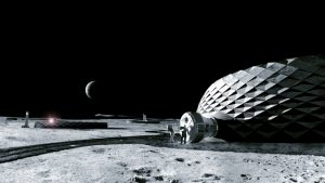ICON will test lunar soil simulant with various processing and printing technologies to help design, develop, and demonstrate prototype elements for a possible future full-scale additive construction system that could print infrastructure on the Moon.